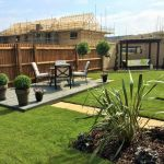 Abbey Homes - Cambridge Show garden 2.