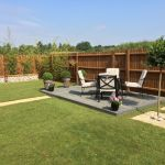 Abbey Homes - Cambridge Show garden 4.