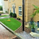Front garden design / construction.